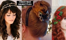 Best Christmas Hairstyle ideas and New Year's Eve Hairstyles