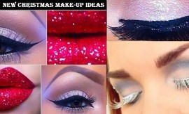 Exclusive Christmas Make-Up ideas and New Year's Eve Make-Over Styles