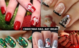 Trendy Christmas Nail Art ideas and New Year's Eve Nail Art Designs