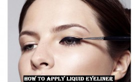 How to Apply Liquid Eyeliner perfectly – Step by step Eyeliner Tutorial