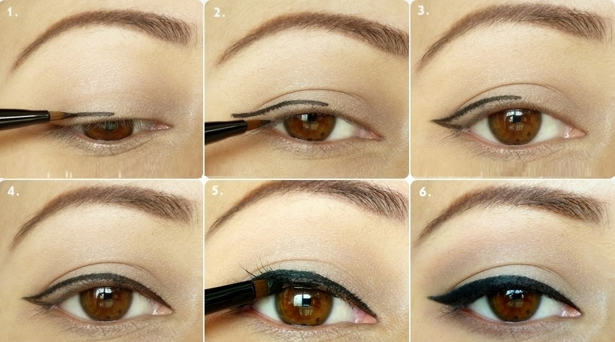 liquid eyeliner tutorial