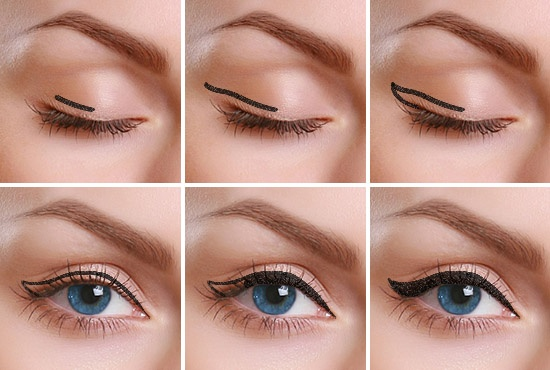 Liquid Eyeliner Tutorial - How to Apply Liquid Eyeliner ...