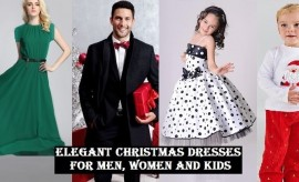 Beautiful Christmas Dresses Collection for Men, Women, Boys and Girls