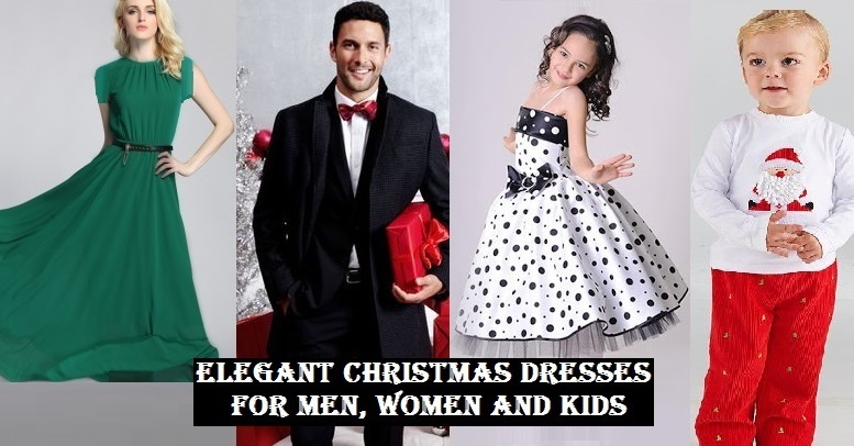 Beautiful christmas dresses collection for men women boys and girls