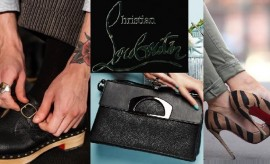 Christian Louboutin Spring Summer Footwear and Bags Collection for men and women