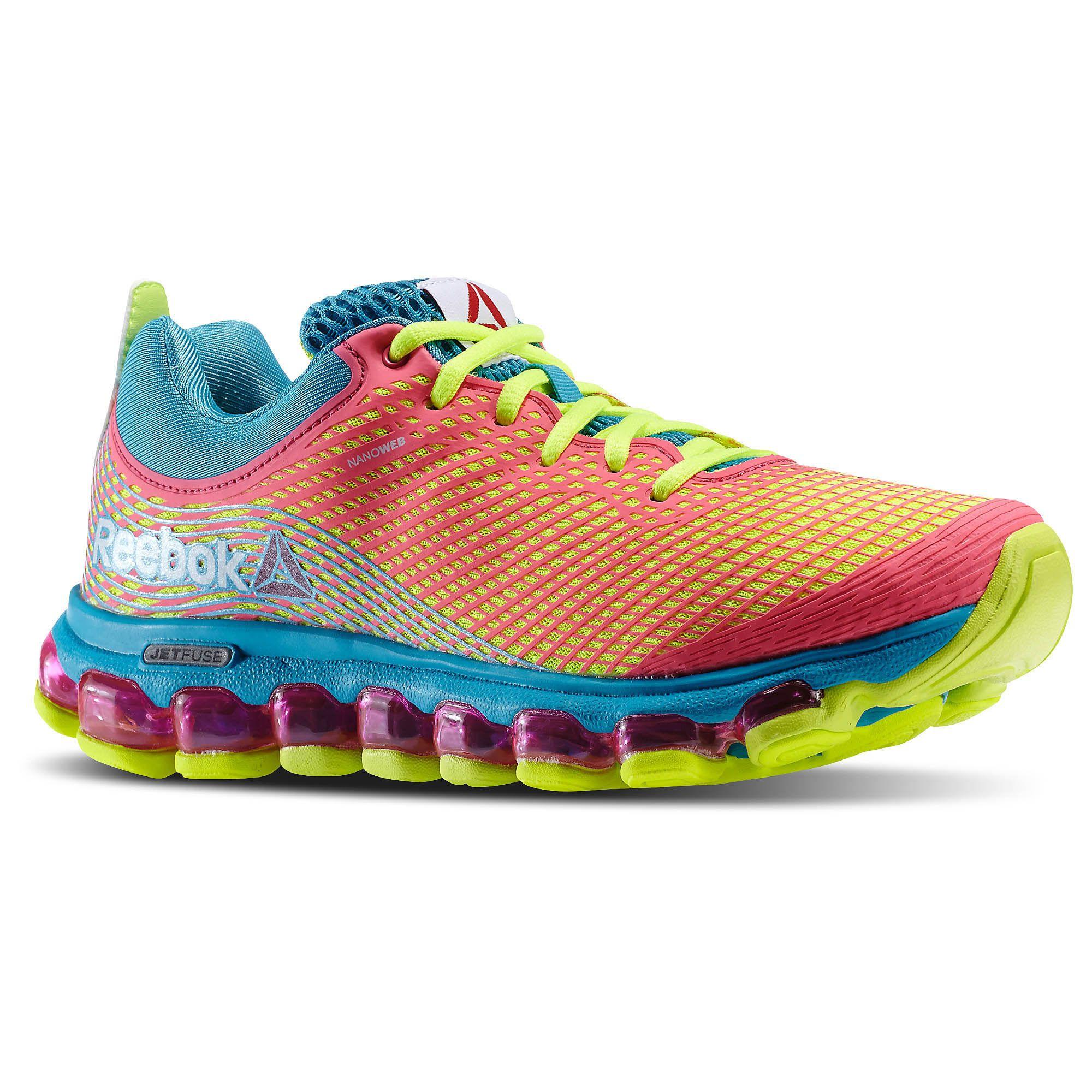 ... reebok women s jetfuse running shoe Reebok Jetfuse Run Black Shoes ... 3f17585ad