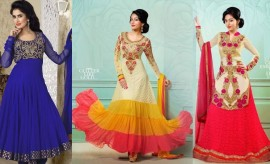 Saheli Couture New Indian Designer Fancy Frocks Collection