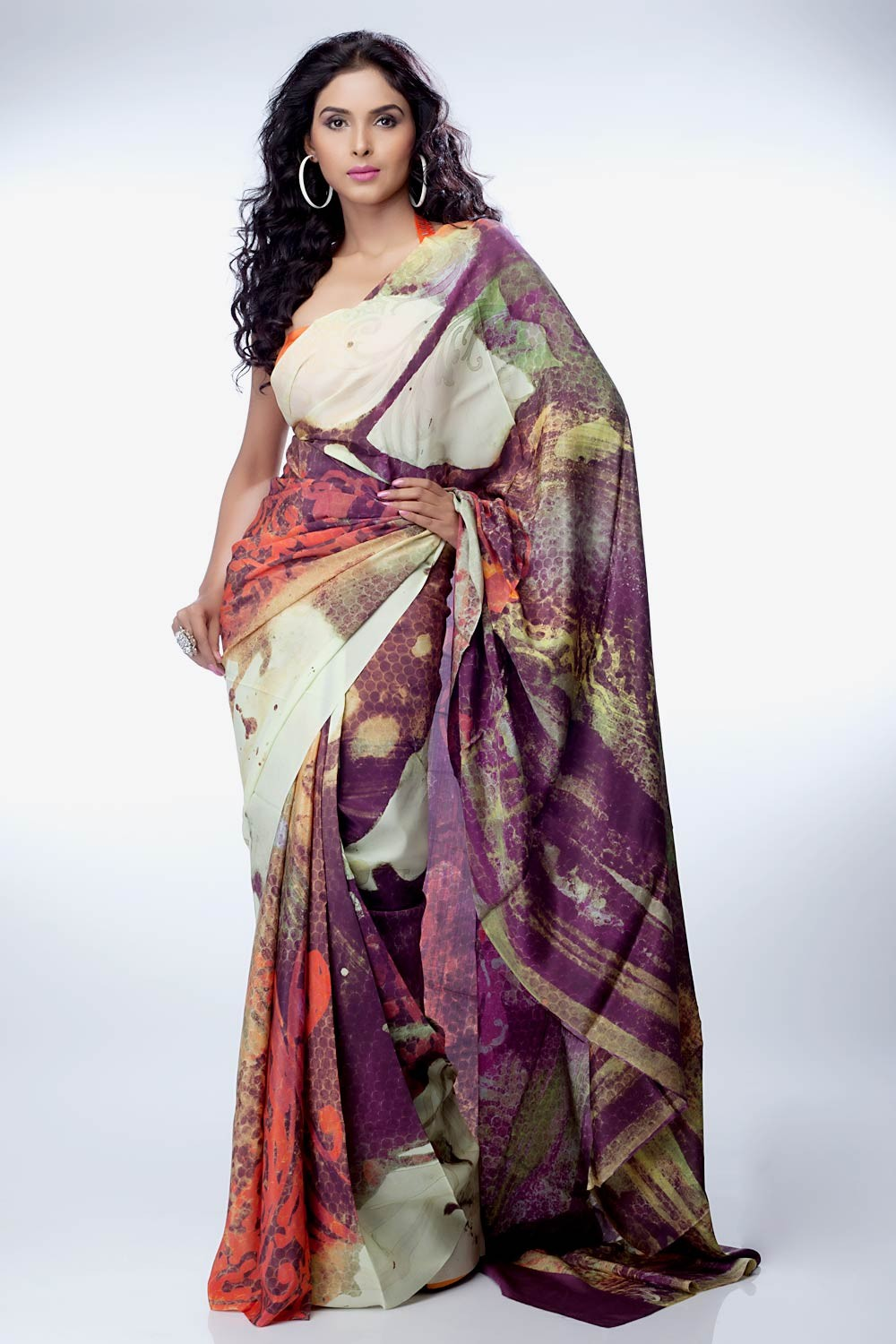 Paul satya sarees collection foto