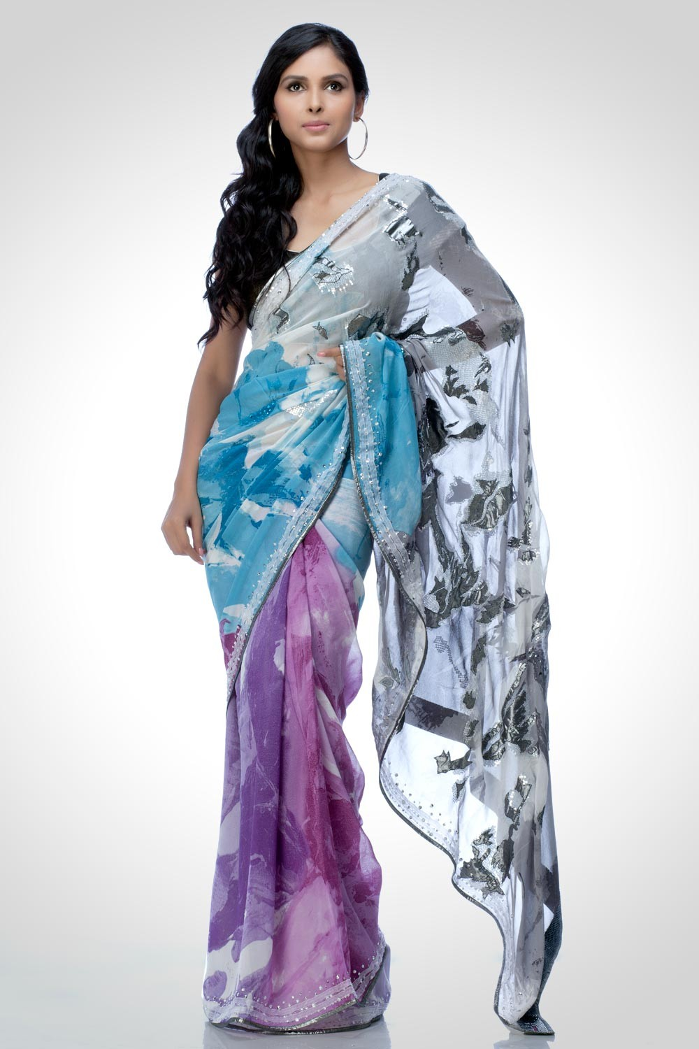 2019 year for lady- Paul satya sarees collection