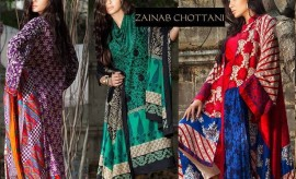 Zainab Chottani Winter Collection 2015 with Prices by Shariq Textiles