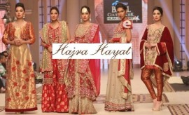 Hajra Hayat Bridal Collection at Telenor Bridal Couture Week HUM SITARAY