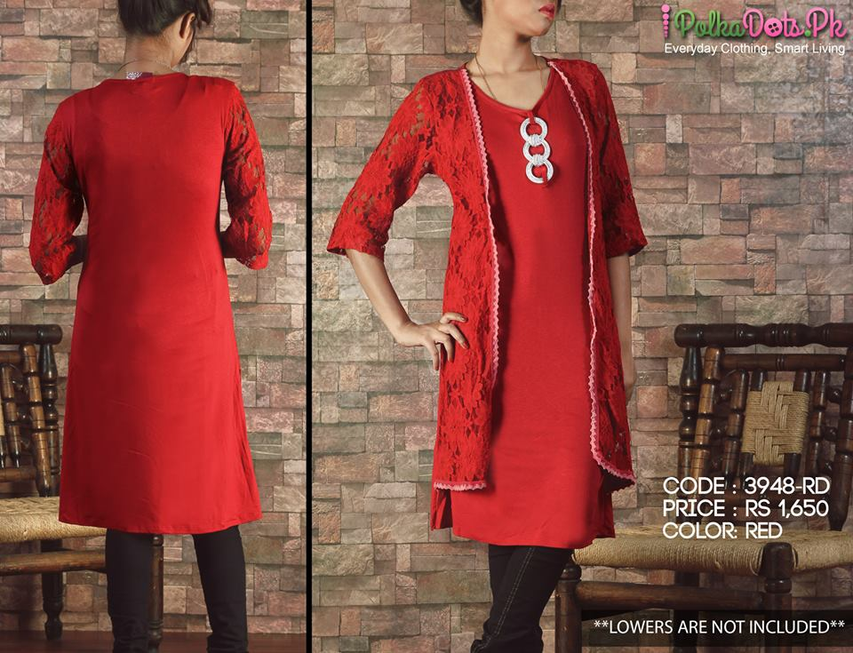 Polka-Dots-Jersey-Kurti-winter-Tops-collection (23)