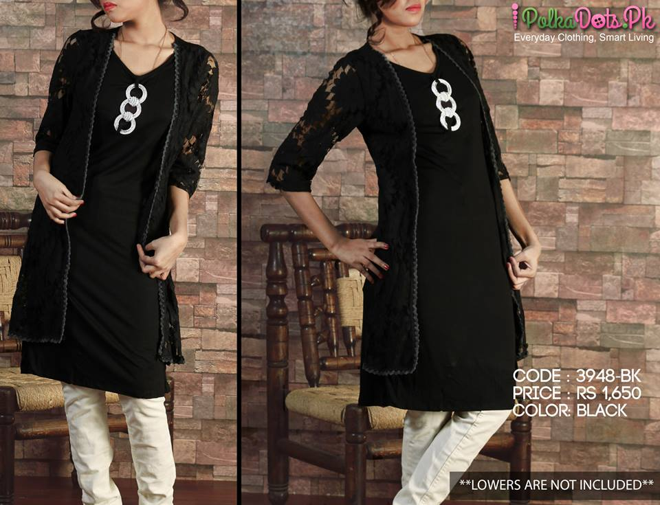 Polka-Dots-Jersey-Kurti-winter-Tops-collection (24)