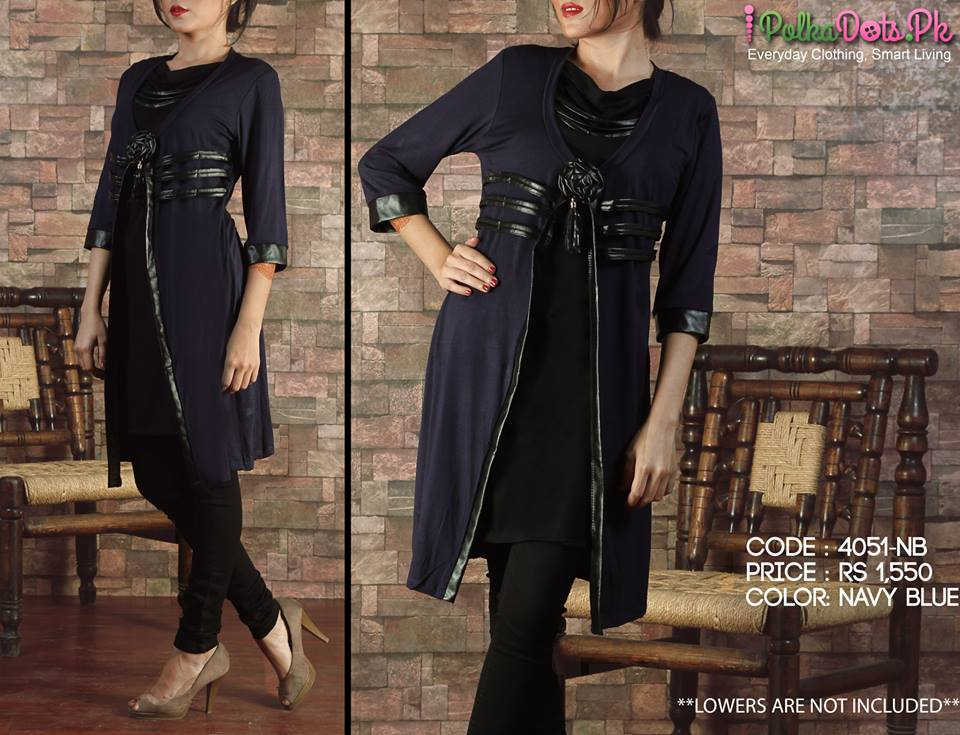 Polka-Dots-Jersey-Kurti-winter-Tops-collection (29)