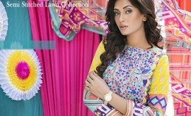 Amna Ismail Latest Spring Summer Lawn Collection 2015