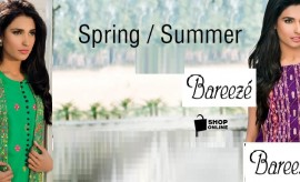 Bareeze Spring Summer Embroidered Lawn Collection 2015