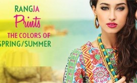 Rang Ja Latest Colors of Spring Summer Prints Collection 2015-2016