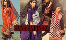 Sana Safinaz New Spring Summer Lawn Collection 2015