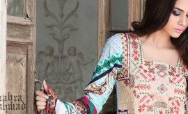 Zahra Ahmed Elegant Spring Summer Dresses Collection 2015-2016