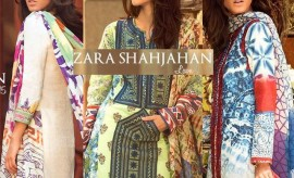 Zara Shahjahan Lawn Summer Spring Collection 2015
