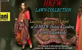 Hadiqa Kiani Fabric World Spring Summer Lawn Collection 2015 Catalog