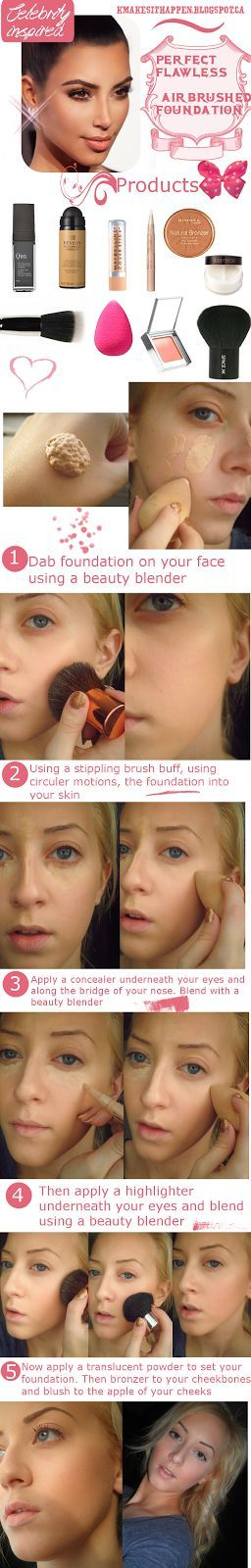 step3&4-foundation-and-loosepowder-(indian-bridal-makeup)