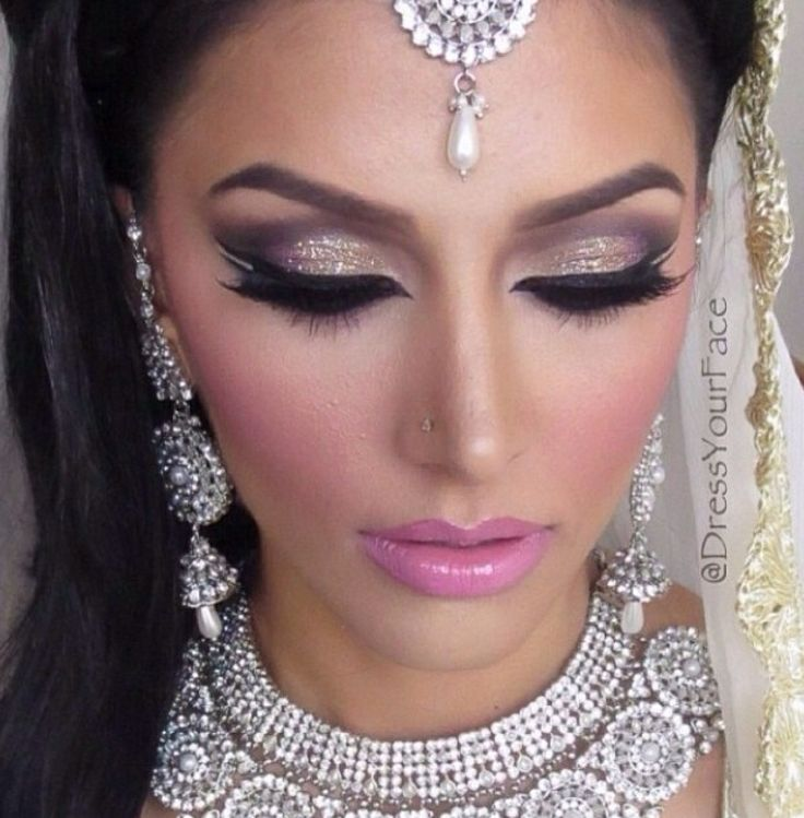 Indian Bridal Eye Makeup