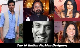 Top 10 Most Popular Indian Fashion Designers of the year