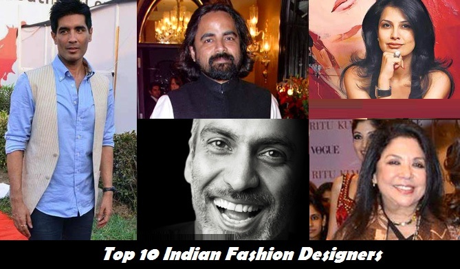 Top 10 Indian Fashion Designers Of The Year Hit List Best