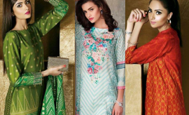 Nishat Linen New Festive Eid Dresses Latest Collection Look-book