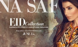 Sana Safinaz New Stylish Eid Collection 2015 Catalogue for Women