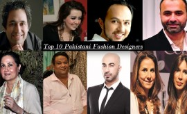 Top 10 Most Popular Pakistani Fashion Designers of the year