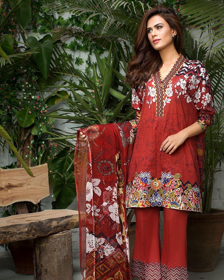 Cross Stitch Eid Dresses 2016-2017 Look-Book (1)