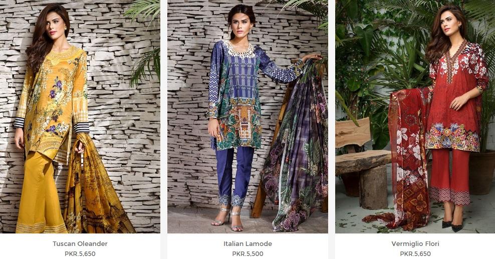Cross Stitch Eid Dresses 2016-2017 with prices