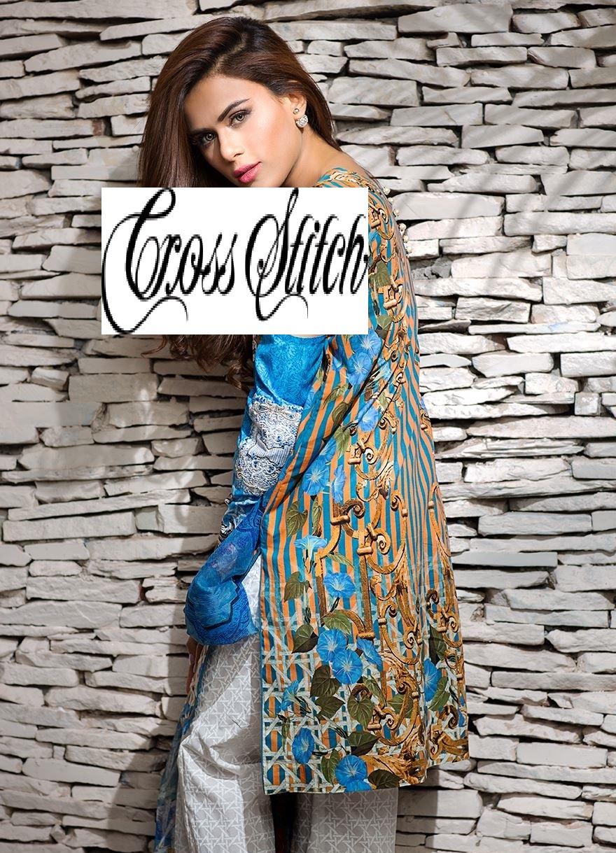 Cross Stitch Eid Dresses 2016-2017 Look-Book (10)