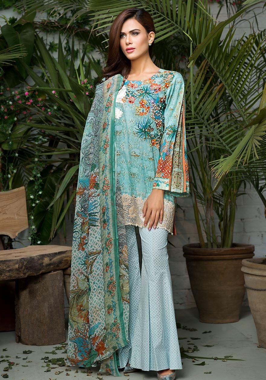 Cross Stitch Eid Dresses 2016-2017 Look-Book (5)