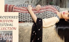Motifz Embroidered Chiffon Festival Collection Full Catalogue with Prices