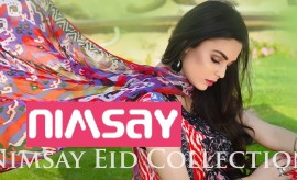 Nimsay Embroidered Eid Collection 2015 Limited Edition by Mahrukh Arif