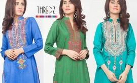 THREDZ New Festive Eid Collection 2015 Catalogue for women