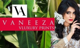 Vaneeza V Lawn Luxury Embroidred Festive Eid Collection 2015 Catalogue