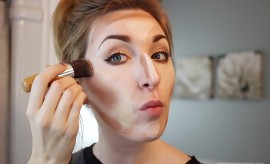How to apply foundation with contouring- Step by step tutorial
