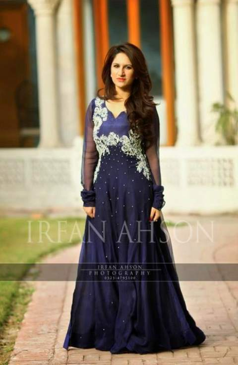 Maxi Dresses Collection 2017-2018 in Pakistan - Fancy Maxi Designs