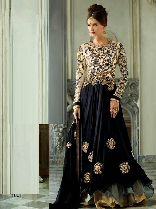 Pakistani style long dresses