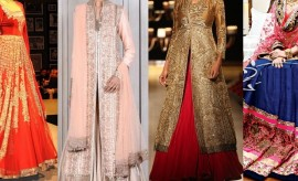 Best Chic Wedding Wear Indian Designer Bridal Dresses 2017 Designs