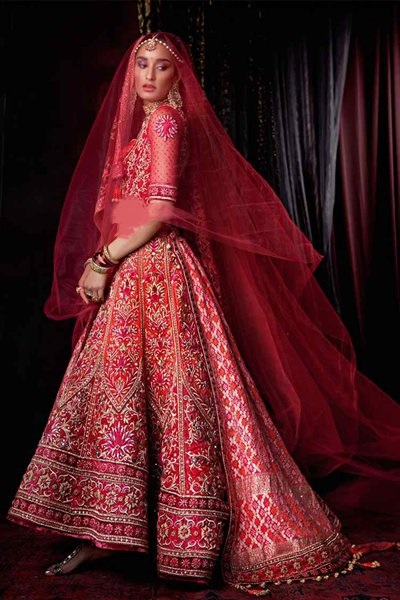 Indian Designer Bridal Dresses 2017-2018 Designs with Class