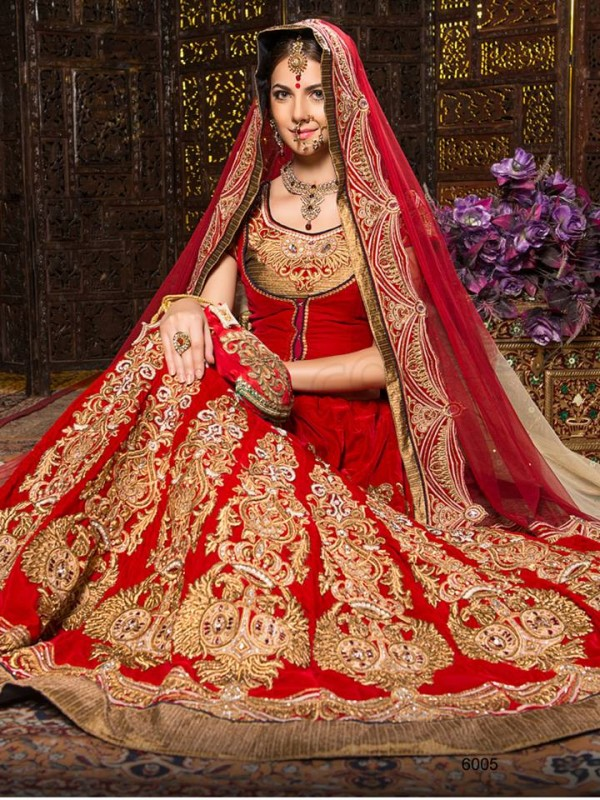 Indian Designer Bridal Dresses Collection (39)