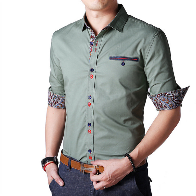 The range of formal shirts, casual shirts for men features a wide selection of products to make your online shopping for shirts experience a customized one, we offer a number of choices in terms of the size of mens shirts, available in a variety of colors and designs, and different fabrics, both in the regular fit and the slim fit.