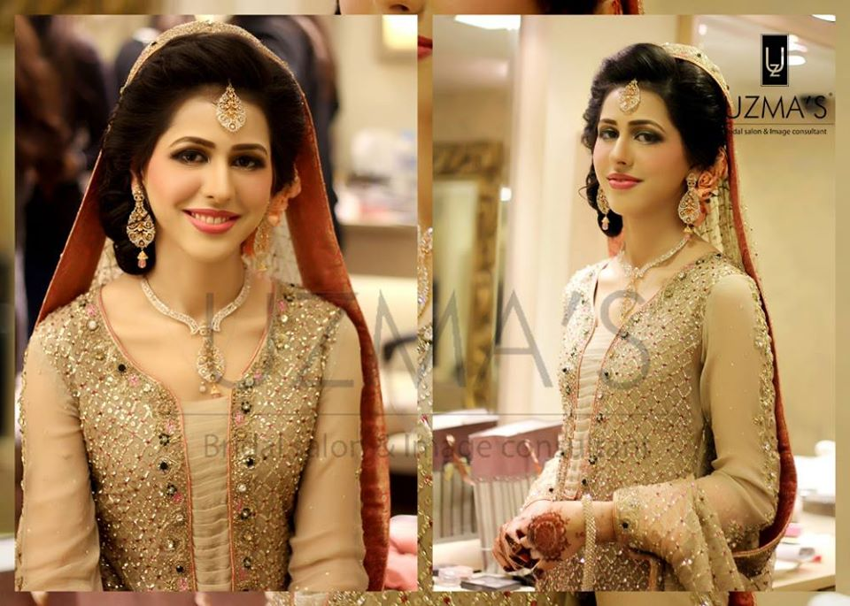 Pakistani Designer Skin Bridal Dress
