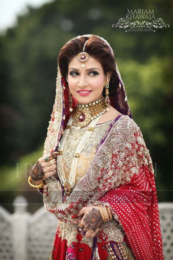 Pakistani Designer traditional Bridal Dress
