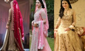 Latest Wedding Wear Pakistani Designer Bridal Dresses 2017-2018 Designs